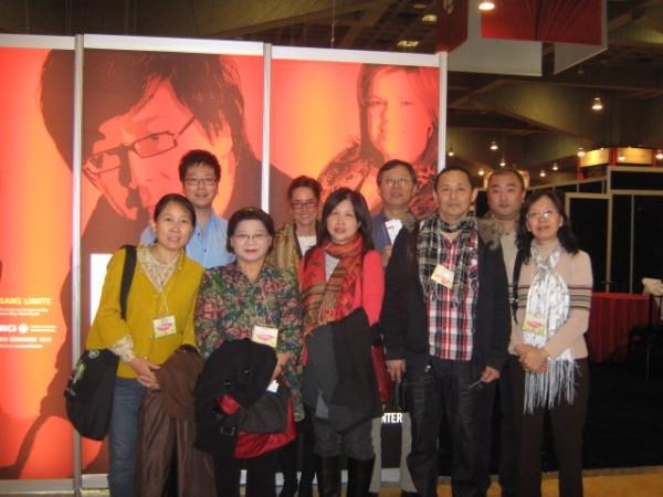 """加拿大国际广播电台采访郑南川,谈""""魁北克华人作家协会的发展与魁北克诗歌印象""""。"""
